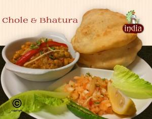 chole bhatura