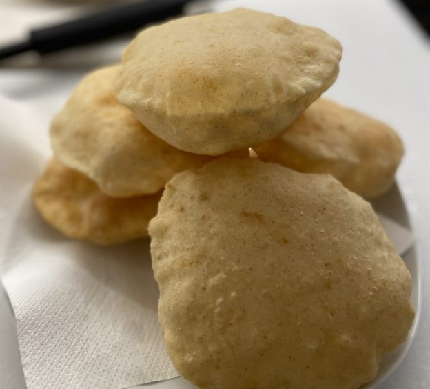 Bhatura -pane indiano fritto