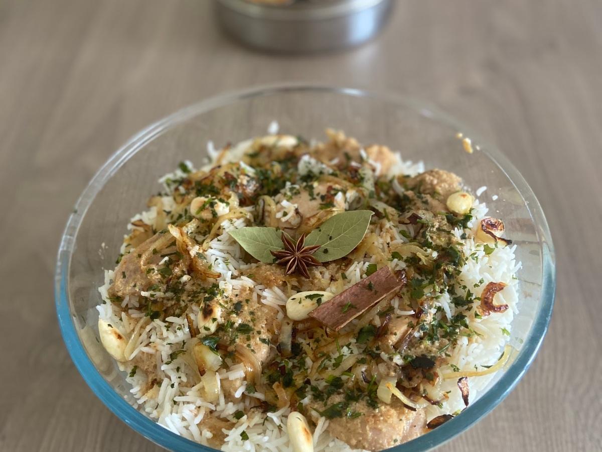 Chicken Biryani - Riso con pollo